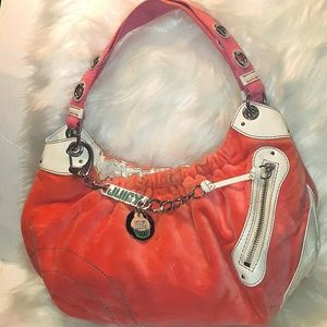 Vintage JUICY COUTURE Cupcake Couture Velour Hobo